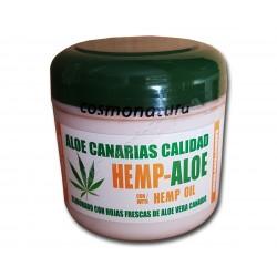 Crema cara y cuerpo con aceite de Cáñamo y Aloe Vera 100% . Cosmonatura