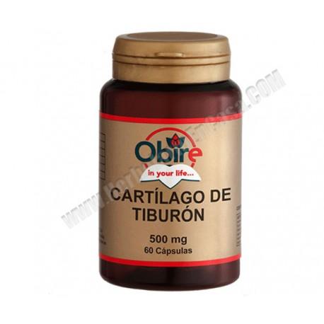 Cartílago De Tiburón- 500mg - 60 cápsulas