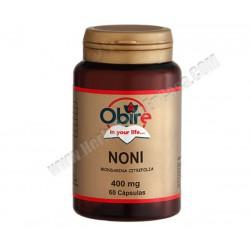 Noni 400 mg  60 cápsulas. Obire ( Morinda Citrifolia)