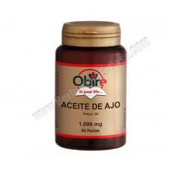 Aceite de ajo (allium sativum) -1000mg - 60 perlas. Obire