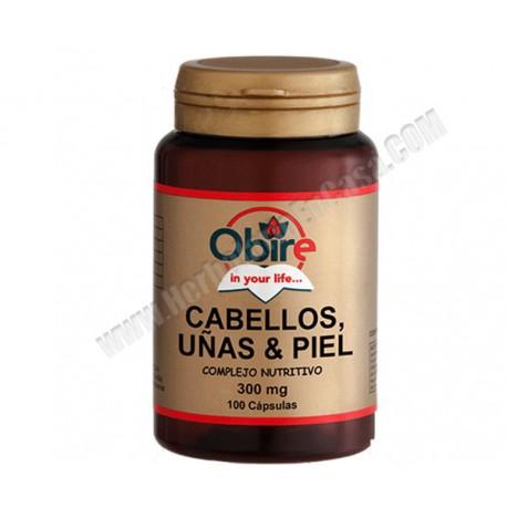 Cabellos , Uñas y Piel . Levadura + Selenio . 100 cápsulas.