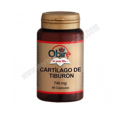 Cartílago de Tiburón -740mg - 90 cápsulas