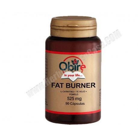 Fat Burner ( l-carnitina + té rojo + pomelo ) 90 cápsulas.