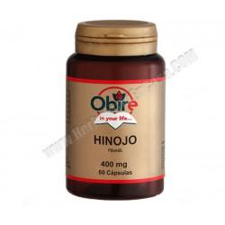 Hinojo - 400mg - 60 capsulas. Obire