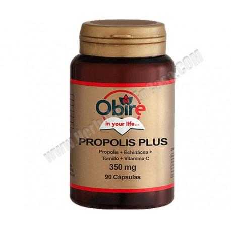 Propolis Plus (propolis + echinacea +tomillo + vitamina C) .