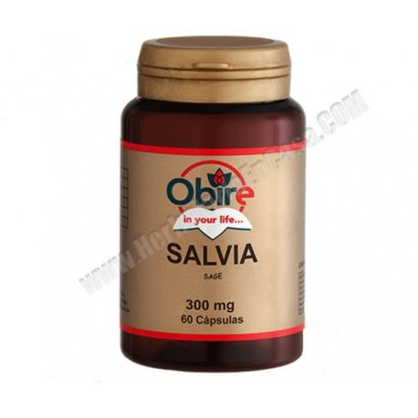 Salvia 300 mg 60 capsulas - Obire