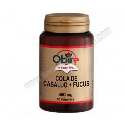 Cola de Caballo + Fucus- 400mg -60 cápsulas - Obire