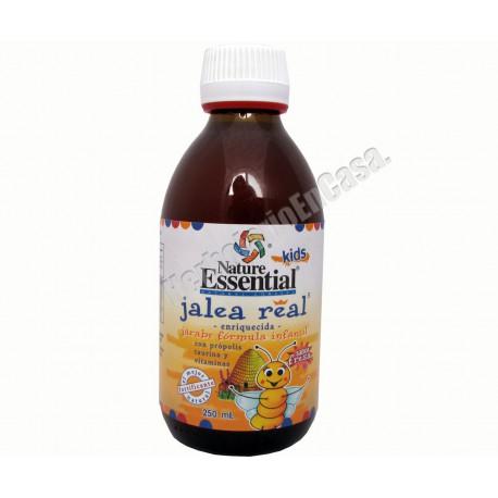 Jarabe de jalea real, própolis, taurina y vitaminas.Infantil. Nature Essential