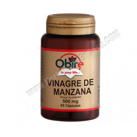 Vinagre de manzana 500mg 60 cápsulas Obire