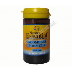 Vitamina B - Complex 500mg 30 cápsulas - NATURE ESSENTIAL