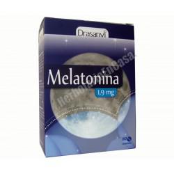 Melatonina 1,9mg. 60 comprimidos. DRASANVI