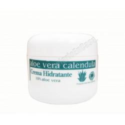 CREMA HIDRATANTE DIA CON FACTOR Nº15 ALOE - CALENDULA