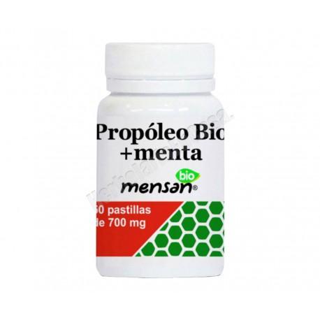 Pastillas garganta BIO Propóleo + Menta fresca (50 unidades)
