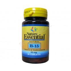 Vitamina B-15 (Calcio Pangamato: 50mg) 50 comprimidos