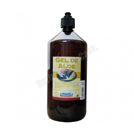 Loción gel de Aloe Vera Vit.E 99% dosificador 1 litro. Granadiet