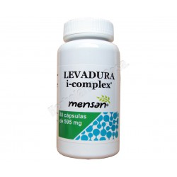 Levadura i-complex 80 cápsulas vegetales de 595mg - Mensan