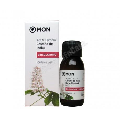 Aceite castaño de indias 60ml (circulatorio) 100% Natural