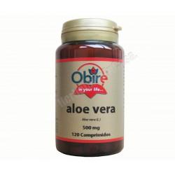 Aloe Vera 250mg 120 comprimidos - Obire
