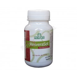 Resverasot 60 cápsulas de 510mg - Resveratrol. Sotya