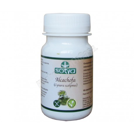 Alcachofa (cynara scolymus) 100 comprimidos - Sotya