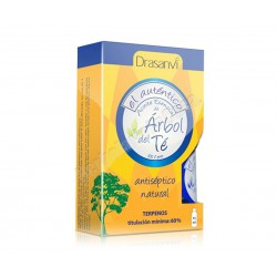 Arbol del Té aceite esencial 100% puro 18ml - Drasanvi