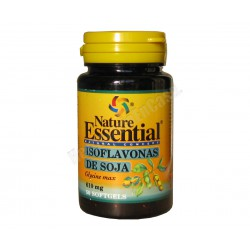 Isoflavonas de soja 50 perlas 610mg - Nature Essential
