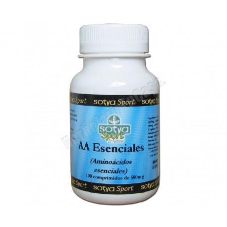Aminoácidos esenciales 500mg 100 comprimidos - Sotya
