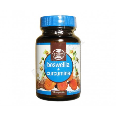 Boswellia + curcumina 90 comprimidos - Dietmed Naturmil