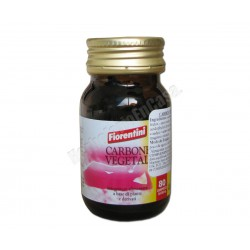 Carbón vegetal + Lactobacillus 80 comprimidos de 500mg. Fiorentini