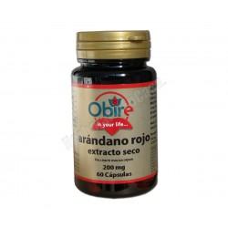 Arándano rojo (extracto seco) con Vit. C - 60 cápsulas - Obire