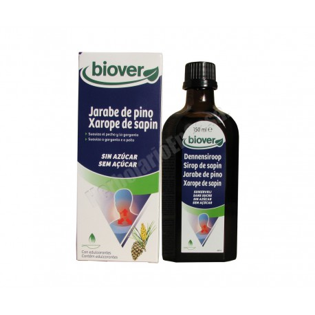 Jarabe de pino sin azúcar 150ml - Biover