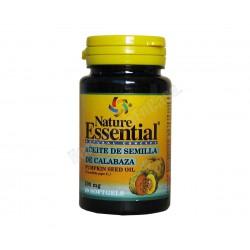 Aceite de semillas de calabaza 500mg 50 perlas - Nature Essential