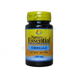 Omega 3 EPA 35% - DHA 25% 500mg. Nature Essential.
