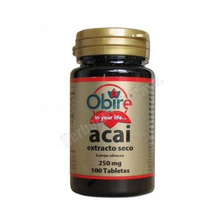 Acai (extracto seco) 100 comprimidos - Obire