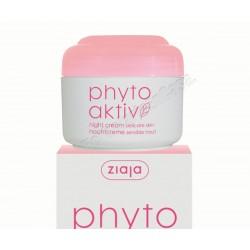 Crema Phytoaktiv noche revitalizante (piel sensible) 50ml - Ziaja