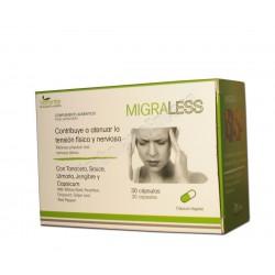 Migraless (tanaceto, sauce, ulmaria, jengibre y capsicum) 30 cápsulas