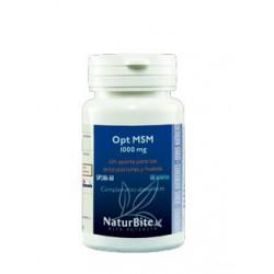 MSM (metilsulfonilmetano) 1000mg 60 comprimidos- Naturbite