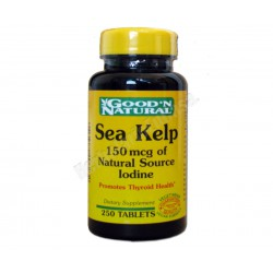 Alga Kelp (yodo) 250 comprimidos - Good´n Natural