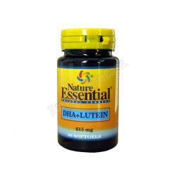 Aceite DHA + Luteina 615mg 50 perlas - Nature Essential