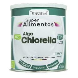 Alga Chlorella Bio en polvo 200gramos - Drasanvi