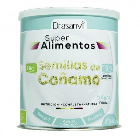 Semillas de cáñamo peladas Bio - Super alimentos Drasanvi - 200 gramos