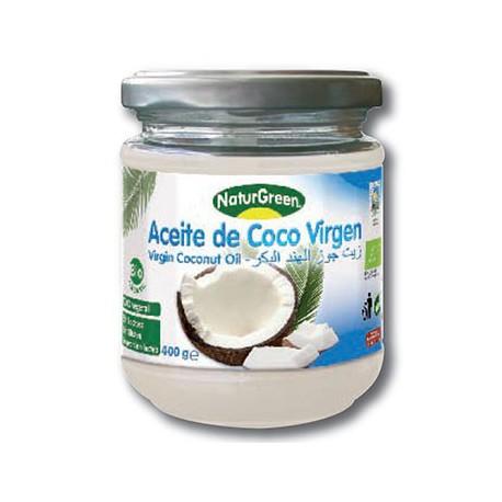Aceite virgen de coco ecológico 400 gramos - Naturgreen