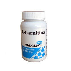 L-carnitina 60 cápsulas de 425mg - Mensan