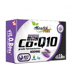 Coenzima Q10 100mg 60 cápsulas - Health PLUS