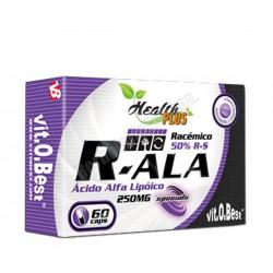 Ácido alfa lipoico 250mg 60 cápsulas - Health PLUS