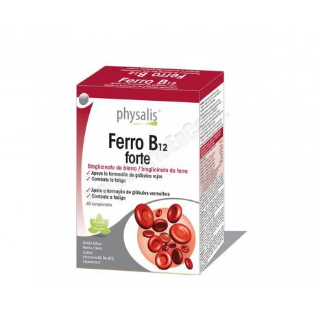 Ferro B12 forte (hierro y vitaminas del grupo B) 60 compr. Physalis