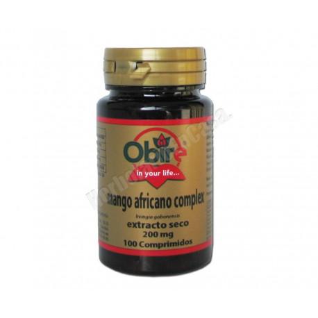 Mango africano (irvingia gabonensis)complex 200mg 100comp. Obire