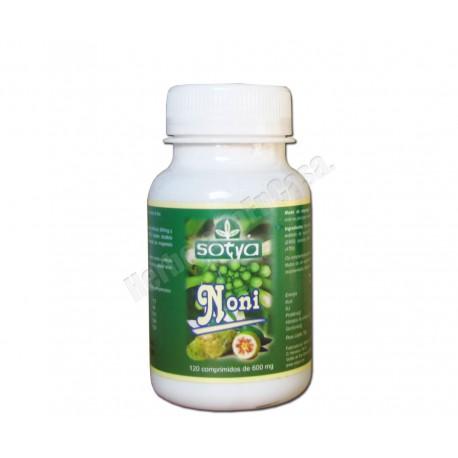 Noni (Morinda Citrifolia) 120 comprimidos de 600mg - Sotya