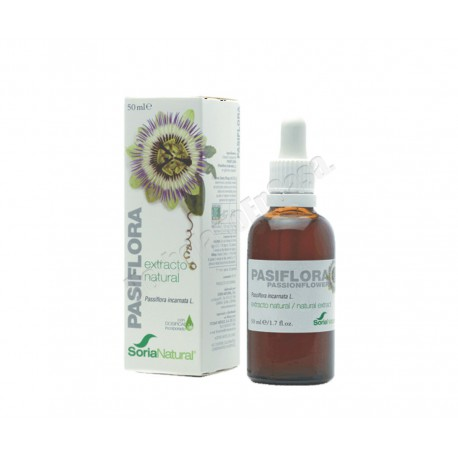 Pasiflora Extracto Natural 50ml - Soria Natural