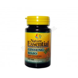 Ginseng Rojo (panax ginseng meyer) 50 cápsulas - Nature Essential
